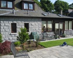 House cladding in Aberdeen.