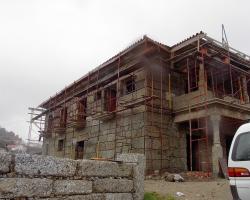Complete granite house.