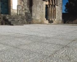 Church yard paving.