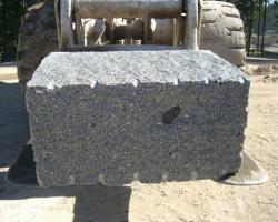 Large grey natural finish grey.