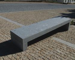 Grey Honed bench