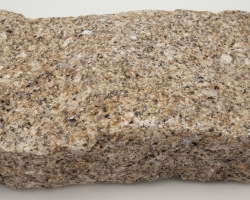 Large new gold granite block