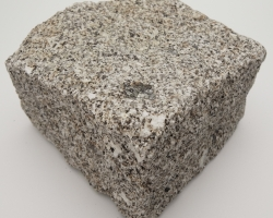Brown square granite