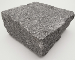 Dark grey granite sett
