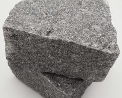Dark grey granite setts