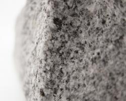 Speckled grey granite