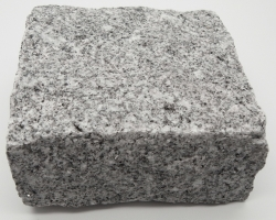 Fine grey granite cobble