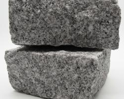 Fine grey granite setts