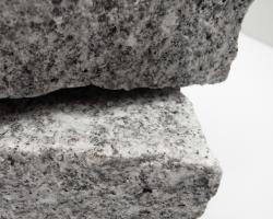 Fine grey granite cobbles