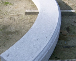 Complicated shaped kerbing
