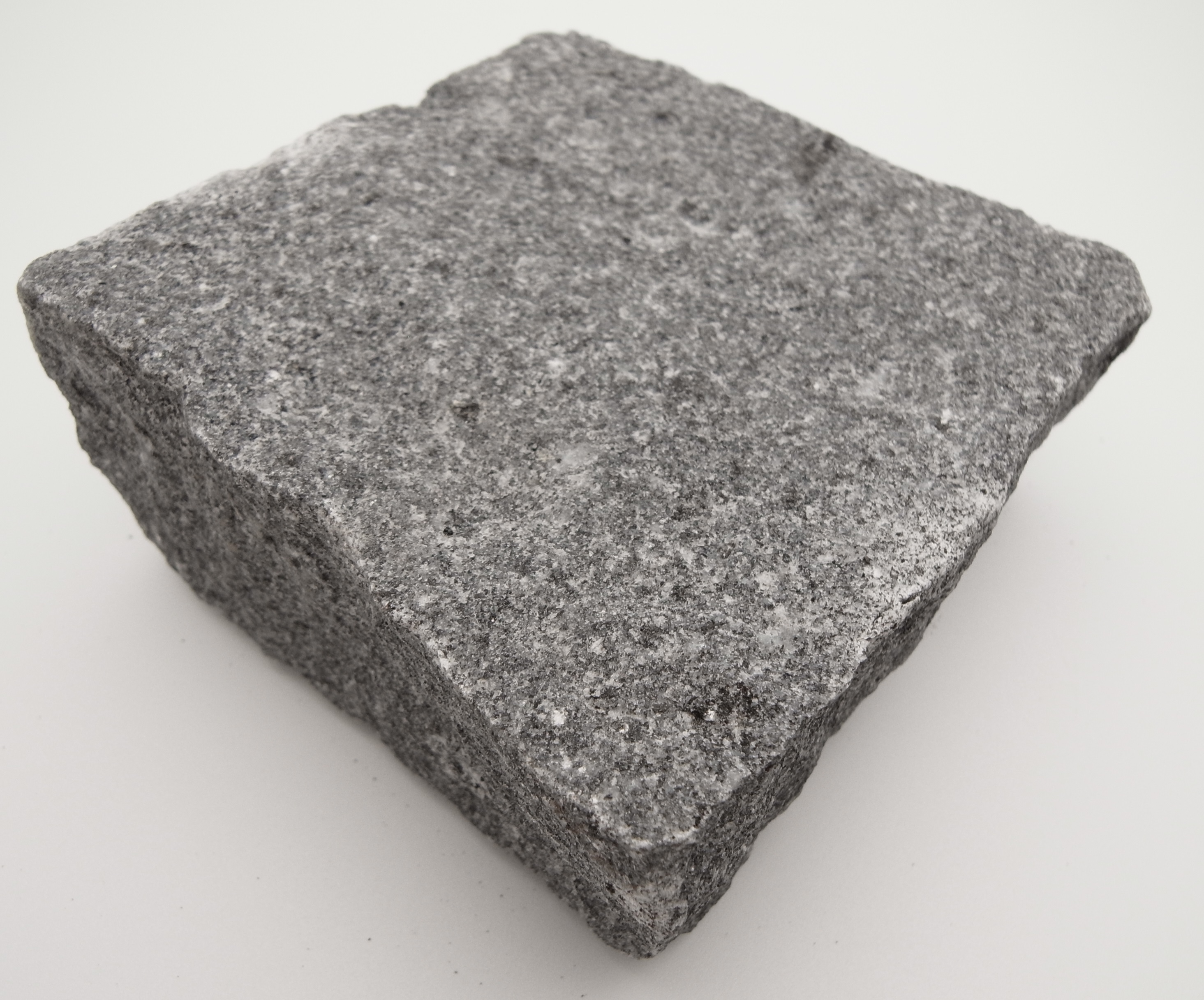 dark grey granite setts in natural cropped finish per m2 stoneyard. Black Bedroom Furniture Sets. Home Design Ideas